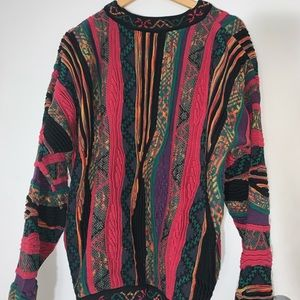 NORM THOMPSON COOGI STYLE SWEATER